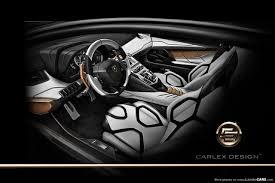 lamborghini aventador interior preview lamborghini aventador by carlex design gtspirit