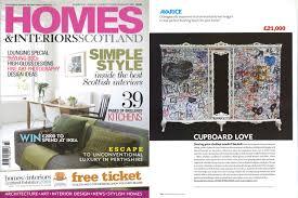 Homes And Interiors Scotland Anna James Press