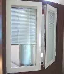 Glass Door With Dog Door Built In by French Doors With Blinds And Dog Door French Door Blinds Designs
