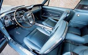 1969 Ford Mustang Interior 1967 Chevrolet Camaro U0026 1967 Ford Mustang Classic Sports Car