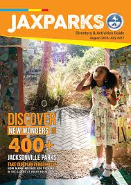 Jacksonville Florida Zip Code Map Jaxparks Directory U0026 Activities Guide 2016 2017 By City Of