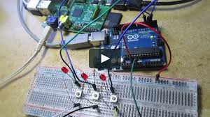 a halloween sound trigger with raspberry pi and arduino on vimeo