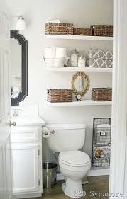 20 diy bathroom storage ideas for small spaces door shelves