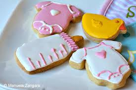 shower shortbread cookies
