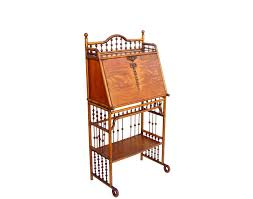 Antique Desk Secretary by Antique Desks Ball U0026 Stick Furniture British Colonial Oak