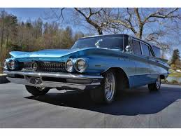 blue station wagon 1960 buick invicta station wagon for sale classiccars com cc