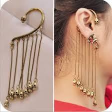 one sided earrings retro sided tassel skull ear hook cheap fashion earring shop at