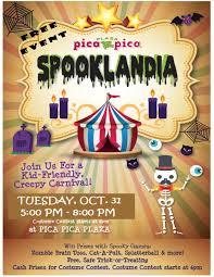 spooklandia picapica plaza