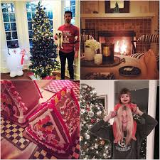 celebrity homes decorated for the holidays popsugar home