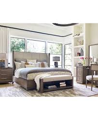upholstered bedroom set rachael ray highline upholstered bedroom furniture collection