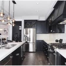 Black Kitchen Cabinets by Love Everything About This Kitchen