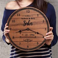 anniversary clock gifts 14 best gift ideas for wedding anniversary images on