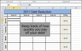 Excel Debt Payoff Template Track Your Finances Andrea Dekker