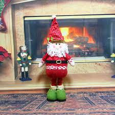 cute christmas idol toy santa claus snowman deer ornaments gift