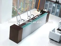 Reception Desk Glass Glass Reception Desk Reception Desk With Glass Top Esquire Glass