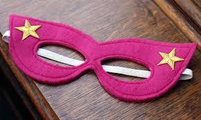 como hacer mascaras en forma de rosa como hacer una mascara de superhéroes para niños