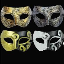 silver mask men s retro greco gladiator masquerade masks vintage golden