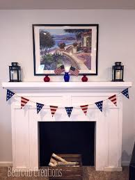 4th of july home decorations bearcub creations memorial day 4th of july mantel