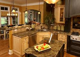 open kitchen plans with island house plans with gorgeous kitchen islands the house designers