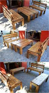 Pallet Patio Furniture Awesome Pallet Wooden Furniture Plans Wood Pallet Furniture