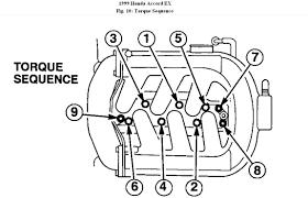 1999 honda accord upper intake manifold diagram engine