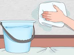 How To Get Crayon Off The Wall by 5 Ways To Clean Plaster Walls Wikihow