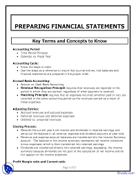 preparing financial statements financial accounting lecture