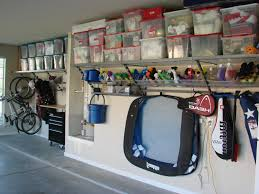 decor garage decor ideas using cool wall decor and floor for garage decor ideas with plastic boxes and shelves for storage