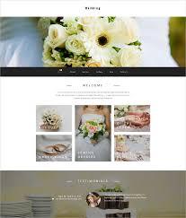 wedding planner website 31 wedding website themes templates free premium templates