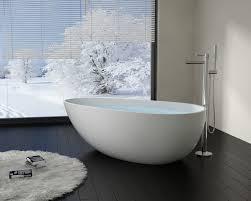 Modern Bathroom Tub Modern Egg Shaped Resin Freestanding Bathtub Bw 01 Xl