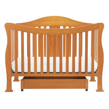 Babi Italia Hamilton Convertible Crib Chocolate by Oak Baby Cribs