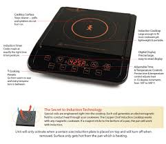 Electromagnetic Cooktop Induction Cooktop Features Copper Chef Xl