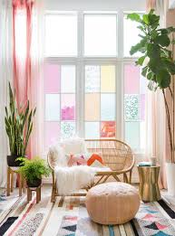 Happy Home Decor How We Transformed Our Studio Windows In One Hour Emily Henderson