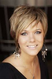 short hairstyles women over 50 fade haircut