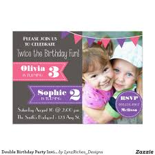 joint birthday party invitation boy u0026 by periwinklepapery