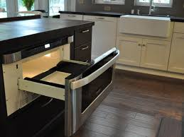 kitchen island with microwave drawer kitchen microwave drawer saves counter space hgtv 17 kitchen