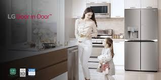 4 door fridge freezer lg refrigerator freezers lg levant