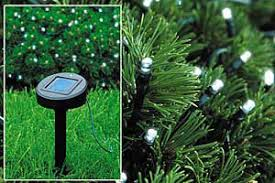 Solar Panels For Lights - solar led xmas lights their advantages renewable green energy