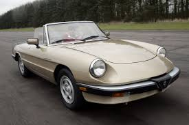 alfa romeo spider classic car review honest john