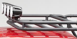 2005 Toyota Tacoma Roof Rack by Amazon Com Body Armor 4x4 5129 Black Large Sport Rack Cargo
