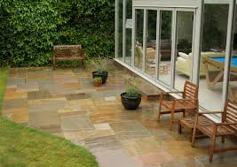 Indian Sandstone Patio by Raj Green Indian Sandstone Paving Free Uk Delivery