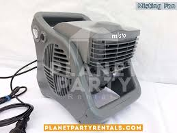 party rentals san fernando valley outdoor misting mister fan