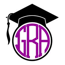 graduation cap frame graduation cap monogram svg cuttabe frames