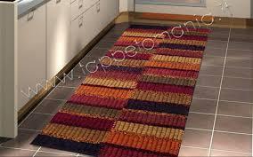 tappeti cucina on line tappeti cucina passatoia in cotone bordeaux