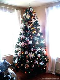 4 foot white christmas tree with colored lights christmas tree with colored lights tree decorated in multi colored