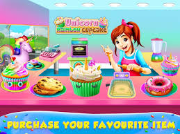 unicorn rainbow unicorn rainbow cupcake dessert android apps on google play