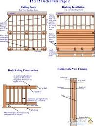 deck plans cost of building a deck make an easy and inexpensive deck plans