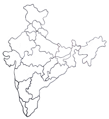 North India Map by How To Draw India Map