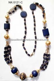 indian beads necklace images Bone metal beads necklace jewelry fashion costume imitation jpg