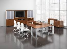 V2 Modular Open Center Rectangular Conference Table Conference